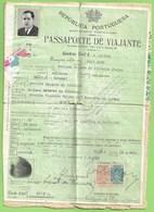 Portuga - Passaporte - Passport - Passeport - Consulado De España - Alte Papiere