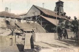 12 CPA : SAINT-ETIENNE HOUILLERES MONTRAMBERT PUITS MARS CHATELUS COURIOT TREUIL POMPE JARDIN PLANTES GILLIET USINE - Saint Etienne