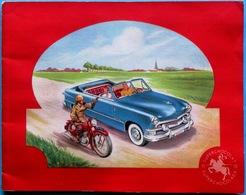 COMPLET 144 Images > Super Chocolat JACQUES : Album De Chromos AUTOMOBILES ET MOTOCYCLETTES (1955) - Jacques