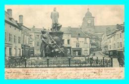 A738 / 343 88 - SAINT DIE DES VOSGES Statue De Jules Ferry Et Cathédrale - Saint Die