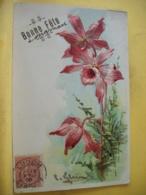 B20 9682 CPA GAUFREE. 1906 - BONNE FETE A MAMAN. BRIN DE FLEURS ROSES - Fête Des Mères