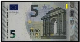 AUSTRIA 5 Euro 2013 Draghi UNC N014 E4  Serial Prefix NA - 5 Euro