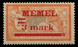 MEMEL 1920 Nr 29y Ungebraucht X89C882 - Klaipeda