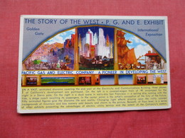 The Story Of The West P.G. & E. Exhibit>  Ref 3219 - Ausstellungen