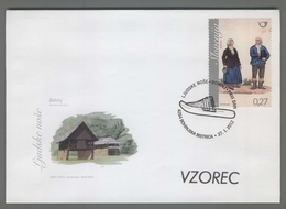 C4420 SLOVENIA FDC 2012 LJUDSKE NOSE BOHINJ 0.27 - Slovenia