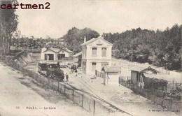KOLEA LA GARE TRAIN LOCOMOTIVE STATION BAHNHOF WILAYA ALGERIE - Algerije