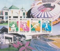Nauru SG MS 487 1998 Commonwealth Games, Souvenir Sheet, Mint Never Hinged - Nauru