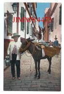 TARJETA  CPA - Un Lechero - SEVILLA Andalucia Spain - C. R. S. - N° 128 - Scans Recto-Verso - Sevilla
