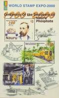 Nauru SG MS 513 2000 Phosphate Corporation, Miniature Sheet, Mint Never Hinged - Nauru