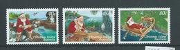 Christmas Island 1997 Christmas & Santa Set Of 3 MNH - Christmas Island