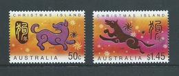 Christmas Island 2006 Chinese New Year Set Of The Dog MNH - Christmas Island