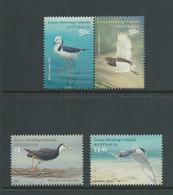 Cocos Keeling Island 2008 Migratory Birds Set Of 4 MNH - Cocos (Keeling) Islands