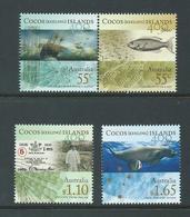 Cocos Keeling Island 2009 Sighting Anniversary 400 Years Set Of 4 MNH - Cocos (Keeling) Islands
