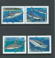 Cocos Keeling Island 2005 WWF Shark Set Of 4 MNH - Cocos (Keeling) Islands