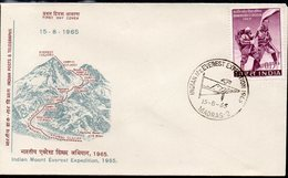 INDIA, 1965 EVEREST EXPEDITION FDC - Storia Postale