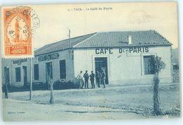 MAROC MAROKKO MOROCCO  CPA   TAZA - CAFE DE PARIS - Andere