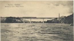 61-283 Belarus Russia Grodno Stahlbrücke Steel Bridge Feldpost - Belarus