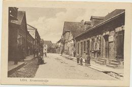 61-286 Belarus Russia Lida Krummestrasse Feldpost 1917 Verlag Kagan - Belarus