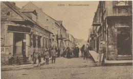 61-287 Belarus Russia Lida Krummestrasse Feldpost 1915 Verlag Sluzki - Belarus