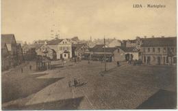 61-288 Belarus Russia Lida Marktplatz Field Post Feldpost 1915 Verlag Sluzki - Belarus