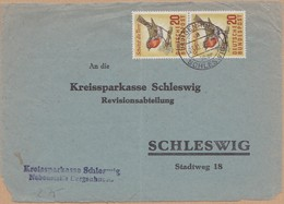 DEVANT ENVELOPPE 1957 DERGENHUGEN  VOIR TIMBRES ET CACHET - Lettres & Documents