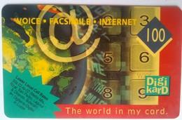 Degitel  100 Pesos Digikard - Philippines