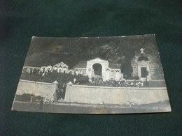 PICCOLO FORMATO FUNERALI CIMITERO PRESENZA? CARLO FILIBERTO 22 8 1927 FOTOGRAFICA - Cartoline