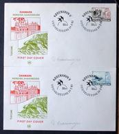 Denmark 1983 NORDEN Cz.Slania    MiNr.772-73  Barrow / Brouette / Karren FDC  ( Lot  Ks) MN  COVER - FDC