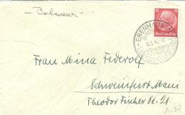 LETTER ALEMANIA  BAD EBENHAUSEN 1940 - Termalismo