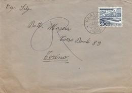 """9337-LETTERA CON ANNULLO """"CASLANO(TICINO)"""" - SVIZZERA - 1954 - Storia Postale"""