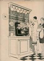 Pub.1927 AU BUCHERON Grand Prix Arts Décoratifs 1925,grand Magasin Du Meuble-verso : Mini-pubs  BE - Publicités