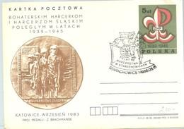 POSTMARKET POLONIA 1983 - Movimiento Scout