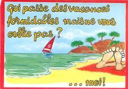Illustrateur Alexandre - Qui Passe Des Vacances Formidables    AM 581 - Alexandre