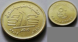 EGYPT - Recently Issued 50 Piastres 2019 - 2019 - National Roads Network - Egypt