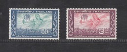 Thailand 1966 International Rice Year, 2v, MNH**, Excellent Condition, Kept In De-humidity Cabinet Since Purchased! - Thaïlande