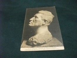 PICCOLO FORMATO ARTE RITRATTO DI ANTONIO BALDINI CIAMPI ALIMONDO ESPOSIZIONE FIRENZE 1915 - Sculture