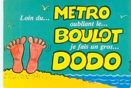 Illustrateur Alexandre - Loin Du Metro Oubliant Le Boulot    AM 618 - Alexandre