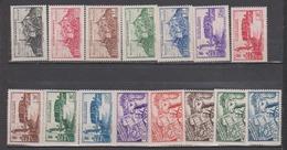 FEZZAN      N° YVERT   28/42    NEUF SANS CHARNIERES     ( NSCH 1/23 ) - Fezzan (1943-1951)