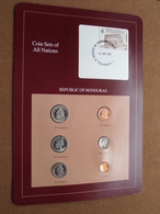 REPUBLIC OF HONDURAS ( From The Serie Coin Sets Of All Nations ) Card 20,5 X 29,5 Cm. ) + Stamp '87 ! - Honduras