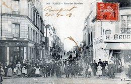 Paris. Rue Des Boulets. (Animée) - Arrondissement: 11