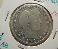USA 1/2 Dollar 1909 Silver - Federal Issues