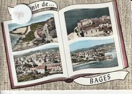11 - Carte Postale Semi Moderne De  SOUVENIR DE BAGES    Multi Vues - France