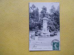 VALENCIENNES. La Statue De Watteau. - Valenciennes