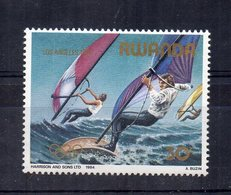 RWANDA - 1984 - Los Angeles 1984 - Windsurf - Nuovo - (FDC14506) - Rwanda