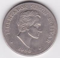Colombie. 50 Centavos 1958 Simon Bolivar. Cupronickel .KM# 217 - Colombie