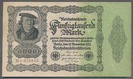 Pick79 - 50 000 Mark Ro 79d Impression Privée ** AUNC ** - [ 3] 1918-1933 : Weimar Republic