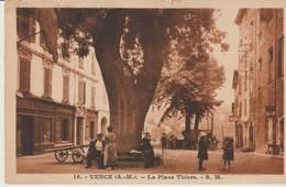 C.P.A. - VENCE - LA PLACE THIERS - R. M.  - ANIMÉE - 16 - Vence