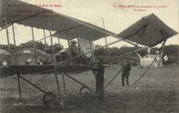 Meeting D'Aviation De La Baie De Seine TROUVILLE LE HAVRE 1910 PAILLETTEau Moment De Prendre Le Départ RV - Meetings