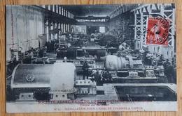 Société Alsacienne De Constructions Mécaniques - Usine De Belfort - Installation Pour L'essai De Turbines... - (n°14727) - Belfort - Stadt