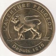 MONNAIE DE PARIS 25 SOCHAUX Musée De L'Aventure Peugeot -DEPUIS 1810 - 2018 - 2018